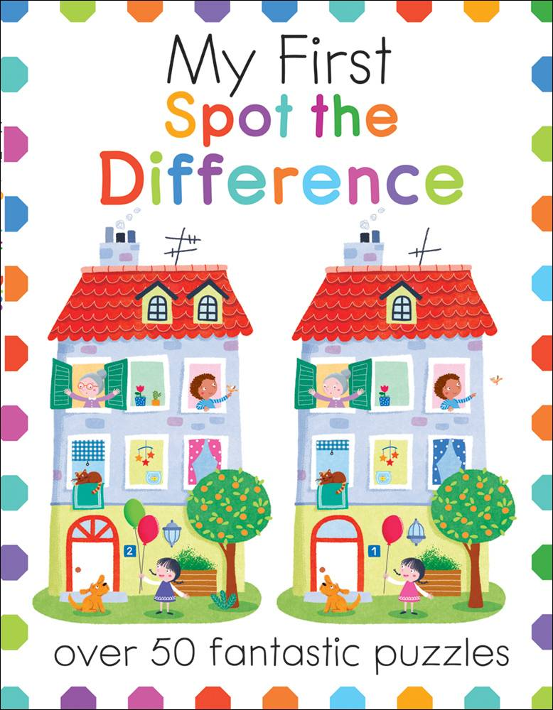 Cover Art for My First Spot the Difference